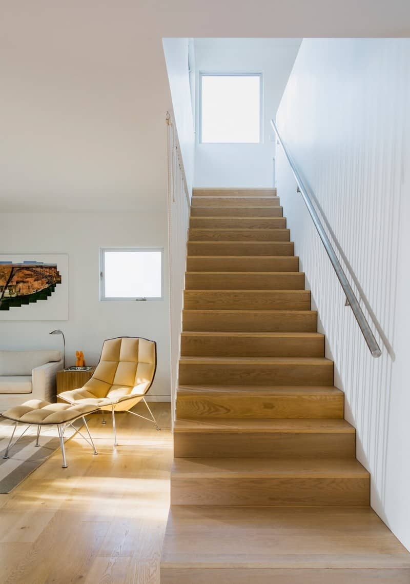 Stairs With Rope Railing Look