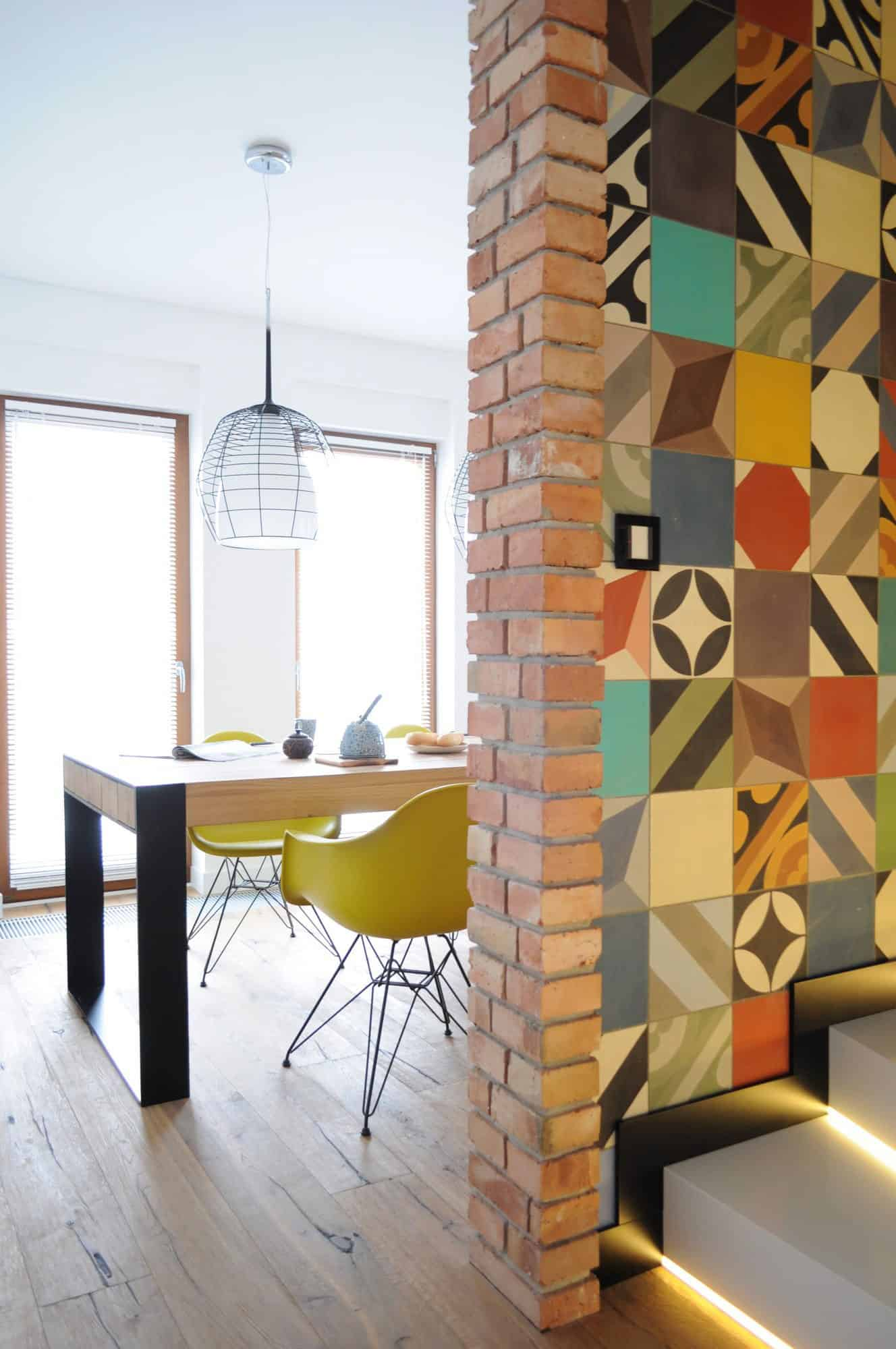Decorating with Cement Tiles on Walls and Floors Leads to Beautiful ...