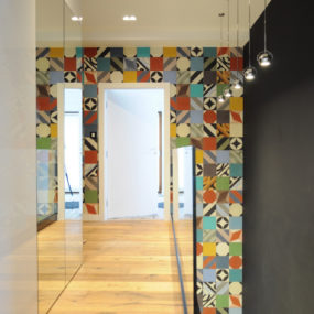 Decorating with Cement Tiles on Walls and Floors Leads to Beautiful Results