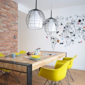 This Black Wire Wall Art and Decor is Stunning