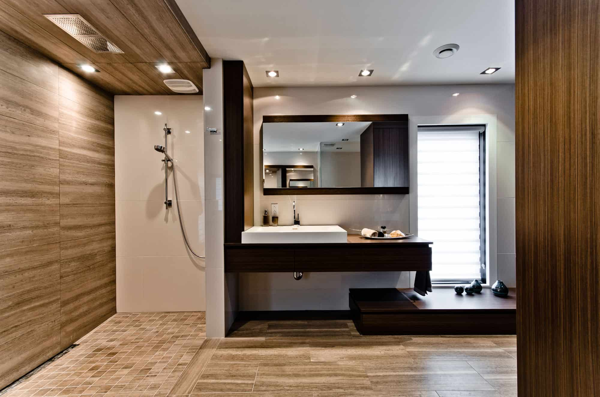 Clever bathroom design for Bathroom interior ideas