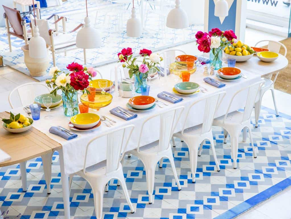 5 Blue And White Floor Tile Idea By Reclaimed Tile