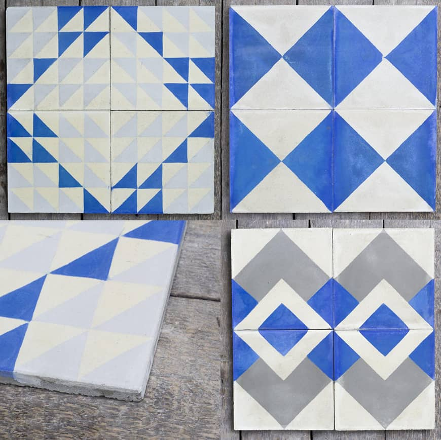 Ceramic Tiles Kitchen Backsplash Blue And White