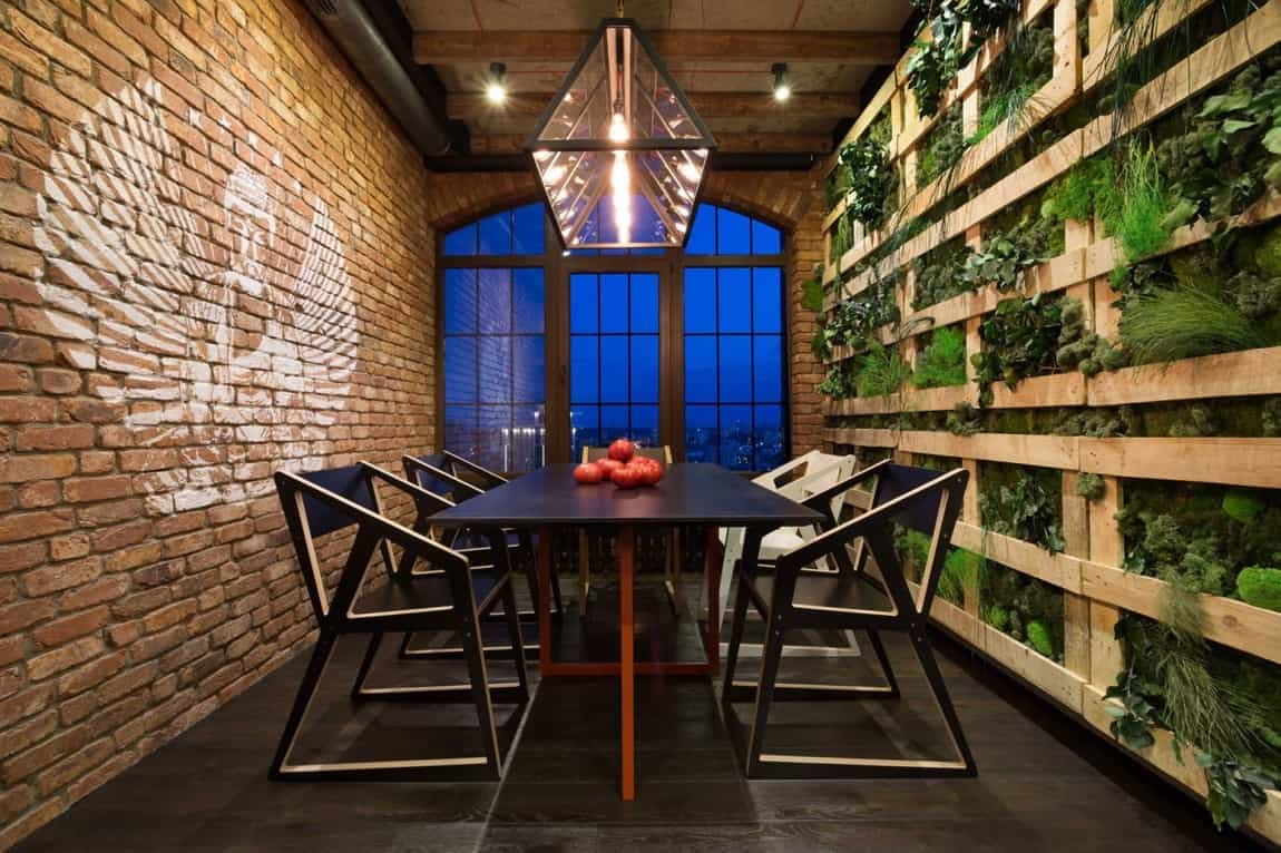 warehouse style lighting. Warehouse Style Loft With Stunning Visual Appeal Lighting