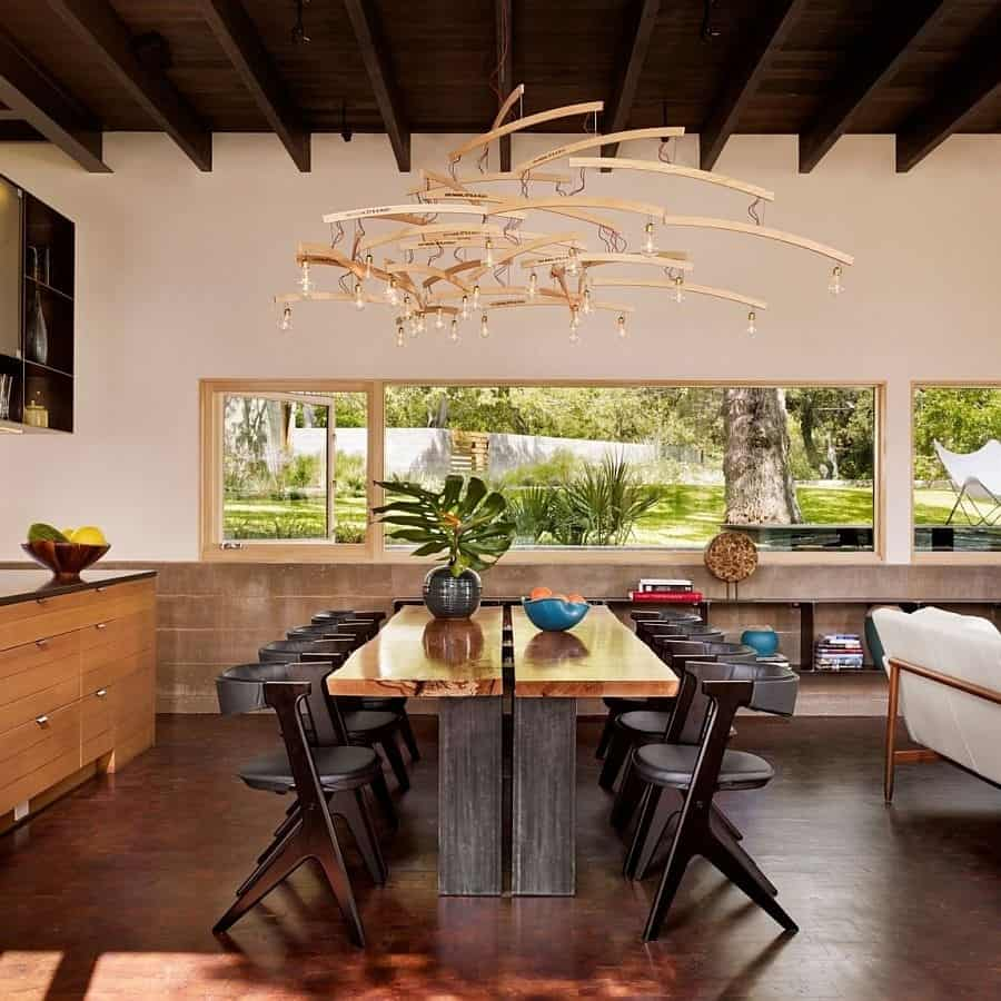 Dramatic Dining Rooms: 30 Beautiful Elegant Ideas