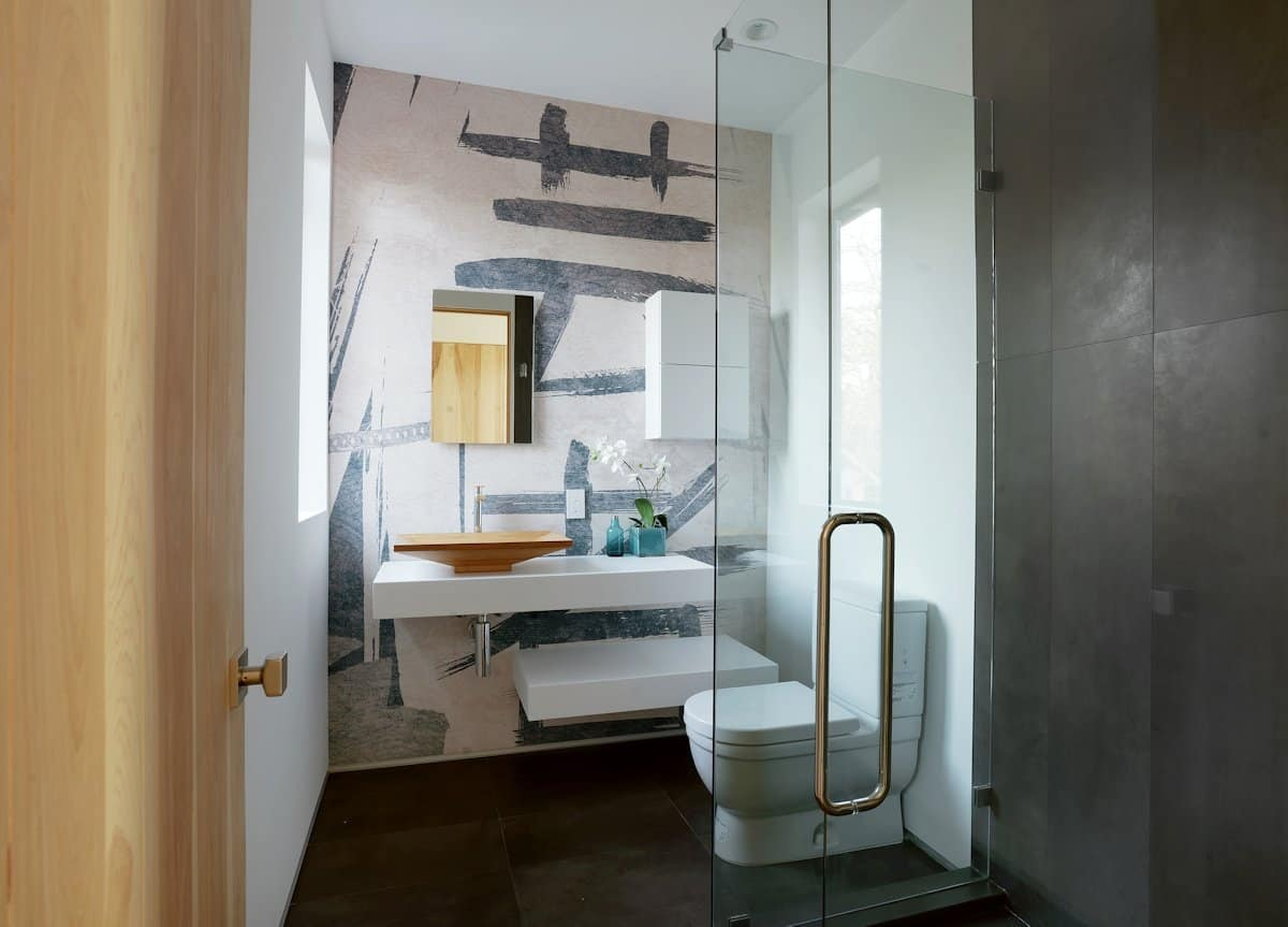 10 modern small bathroom ideas for dramatic design or for Modern small bathroom design