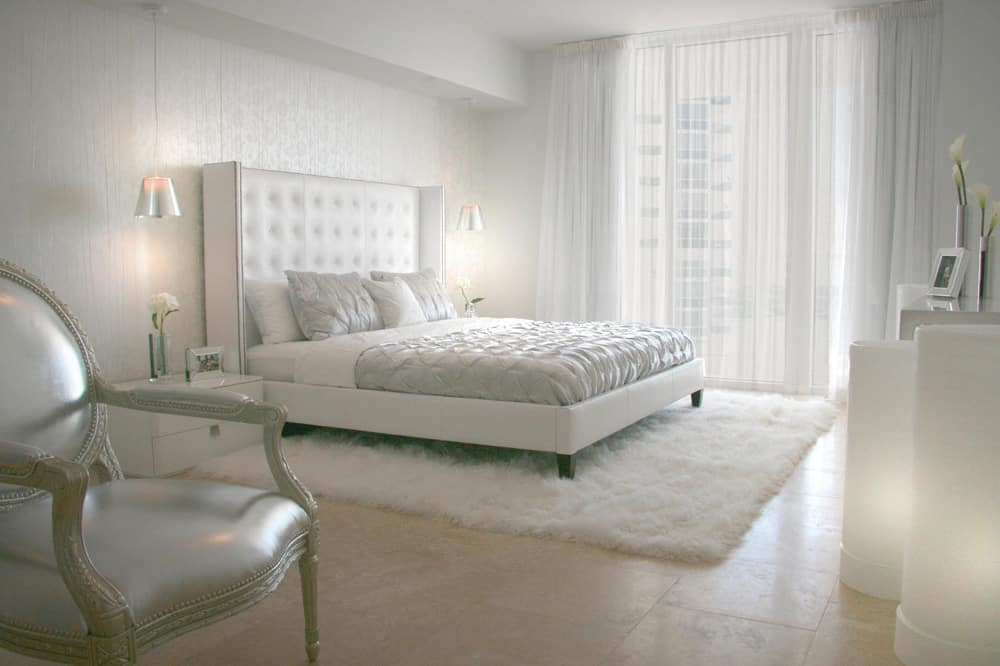 As With The Previous Bedroom Example, This Modern Room Brings In The  Geometry Within The Duvet Cover, Tufted Headboard And Furniture Shapes, But  This Room ...