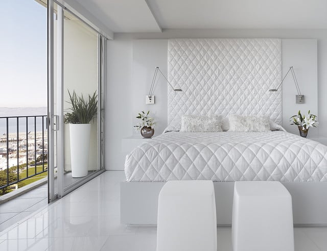 Modern White Room white room interiors: 25 design ideas for the color of light