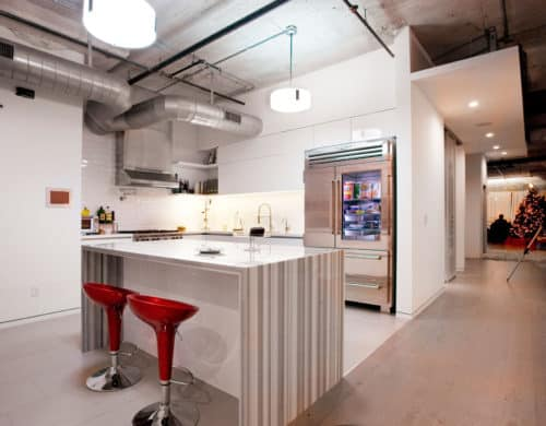 Remodeling Project Merges Two Lofts Into One