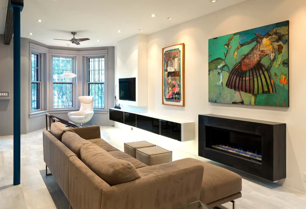 The Living Room Is Kept Neutral, Allowing The Vibrant Colors Within The  Homeowneru0027s Art Collection Of Local And Puerto Rican Artists To Create  Dramatic ... Part 52
