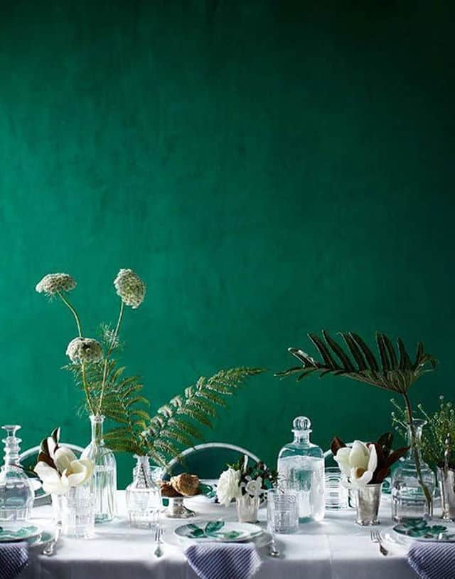 A Fun Idea Is To Take Several Shades Of Green And Work Them All Into Your  Wall To Create Velvet Aesthetic. Itu0027s Easy To Do U2013 All You Need Is Some  Cotton ...