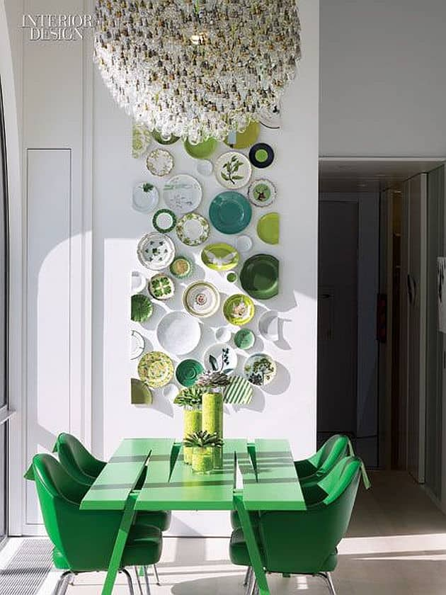 View in gallery 2c-green-color-interior-design.jpg & 7 Ways to Create Green Color Interior Design
