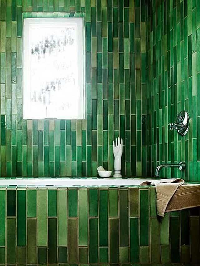 View In Gallery 3c Green Color Interior Design Jpg