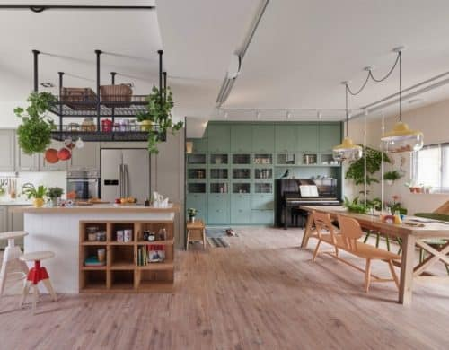 Home Designed for Family Fun and Creativity
