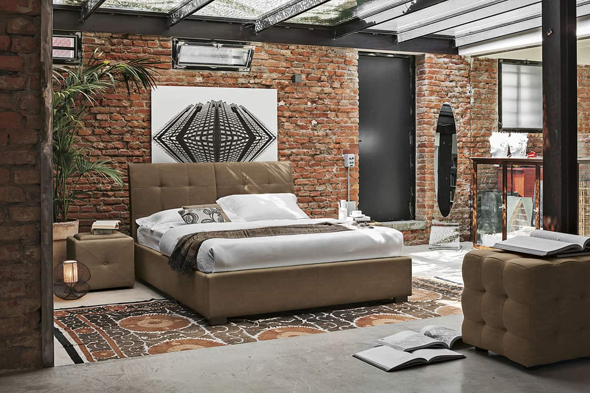50 modern bedroom design ideas - Salle de bain briquette ...