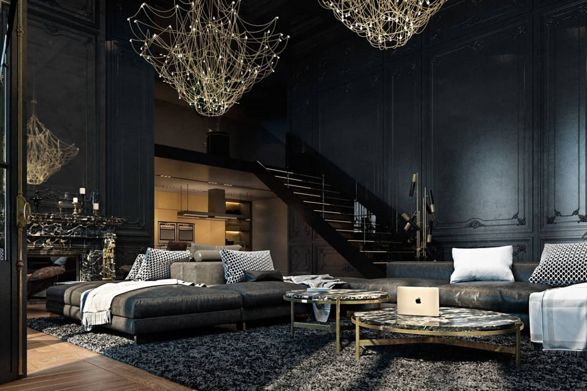 2 Story Aesthetic Apartment - 6-historic-apartment-black-interior_Beautiful 2 Story Aesthetic Apartment - 6-historic-apartment-black-interior  Photograph_672992.jpg