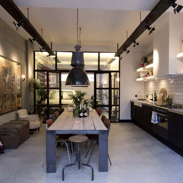view in gallery - Industrial Kitchen
