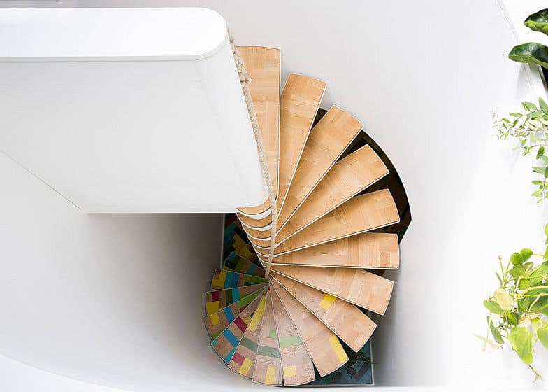 Color Integrated Into A Stairwell Design Can Take On All Sorts Of Different  Styles And Formats From Traditional To Modern, In Multiple Hued Patterns Or  ...