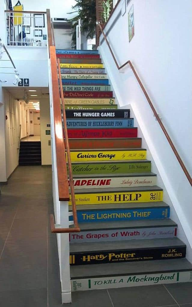 Colorful Staircase Designs 30 Ideas To Consider For A