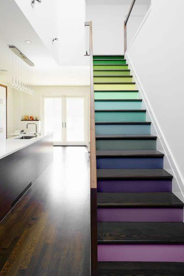 25 Best Ideas About Modern Staircase On Pinterest: Colorful Staircase Designs: 30 Ideas To Consider For A