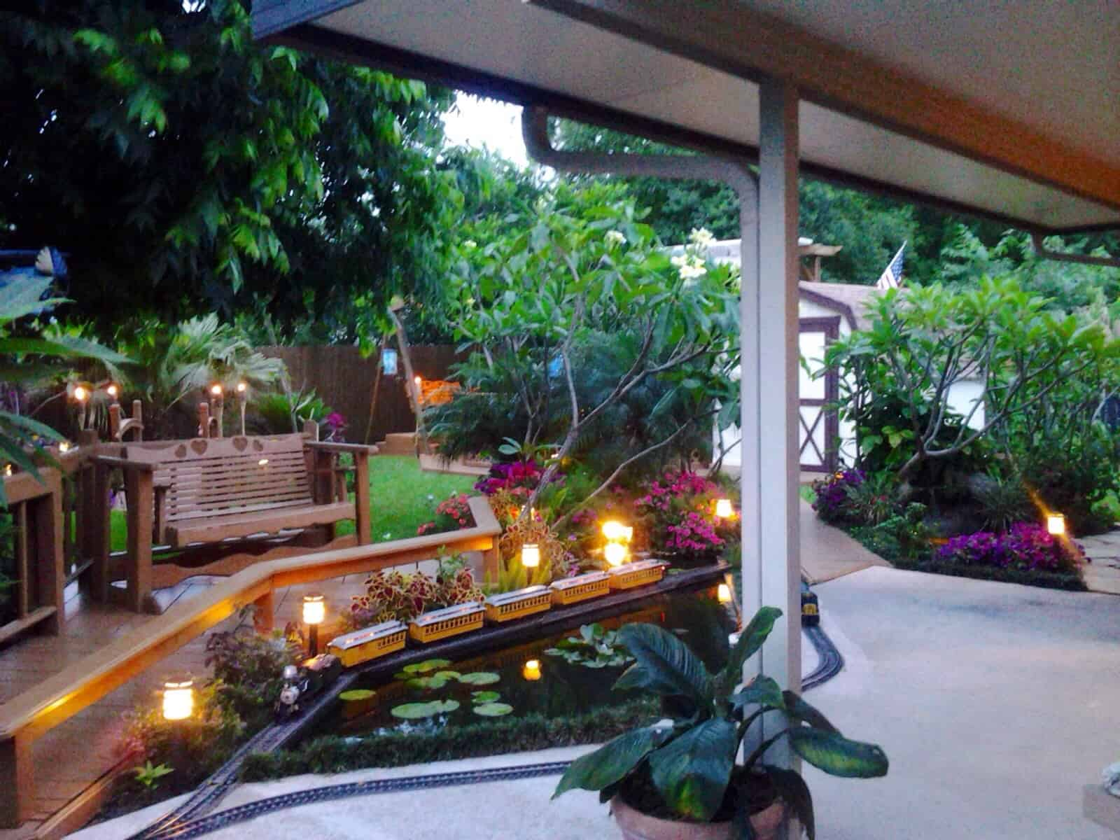 35 Sublime Koi Pond Designs and Water Garden Ideas for ... on Koi Ponds Ideas id=63488