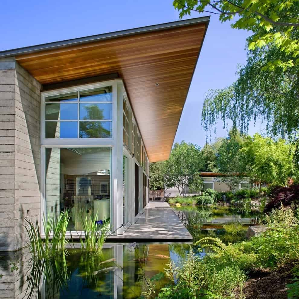 35 Sublime Koi Pond Designs and Water Garden Ideas for ... on Modern Pond Ideas id=62979