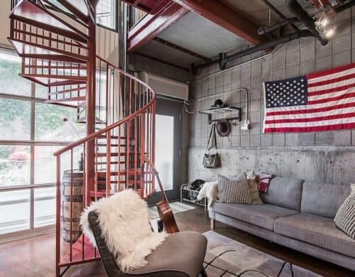 Tiny Eclectic Loft is Big on Style