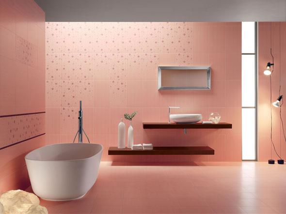 Acif Pink Bathroom