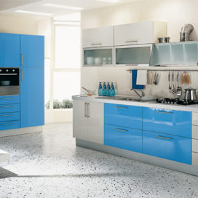 Cool and Contemporary Kitchen: The Multipla Laccata