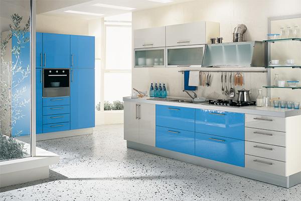 aerre cucine multipla laccata kitchen design Cool and Contemporary Kitchen: The Multipla Laccata