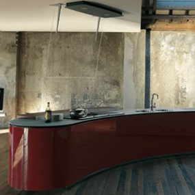 Dramatic Kitchen Interior Design by Alessi – Rustic and Ultra Modern combine