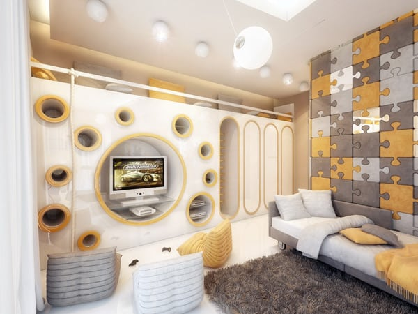 Amazing Children Room Design by Geometrix Design