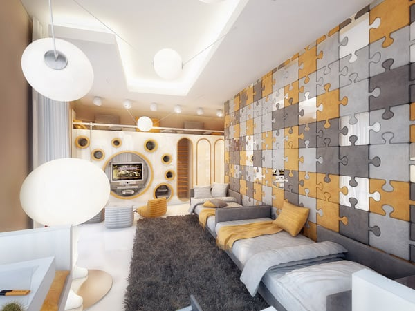 amazing children room designgeometrix design Children Bedroom Design