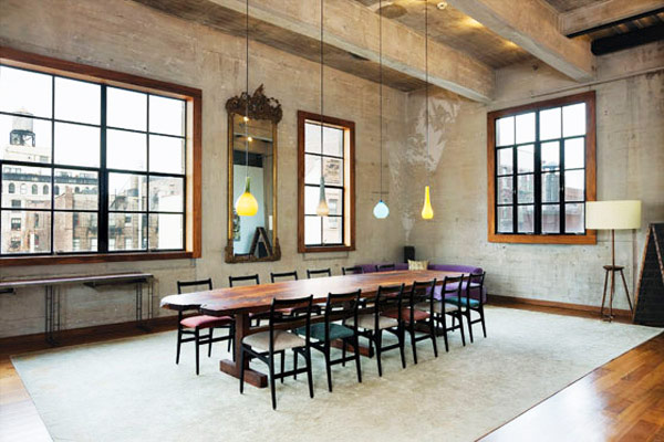 amazing industrial new york loft 1