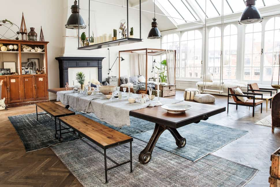 The eclectic interior style you dream about for Architecture firm amsterdam