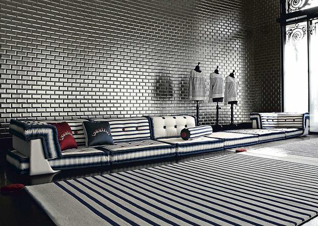 sailor mah jong modular sofa from roche bobois 1 thumb 630x448 8701 Nautical Themed Living Room Idea by Roche Bobois