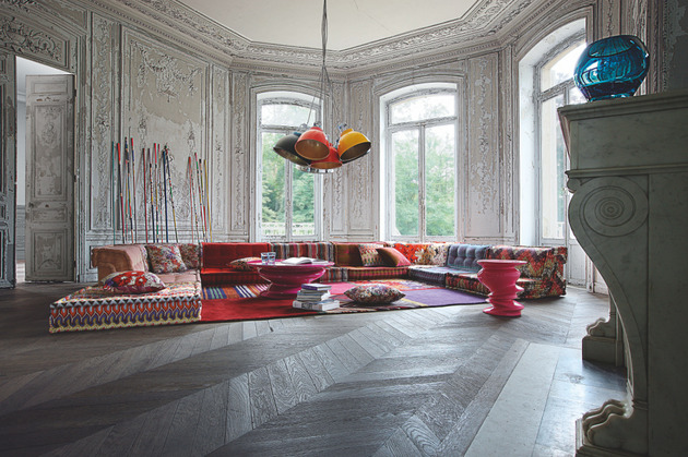 roche bobois mah jong modular sofa 1 thumb 630x419 8962 Bohemian Living Room: Roche Bobois Mah Jong Modular Sofa