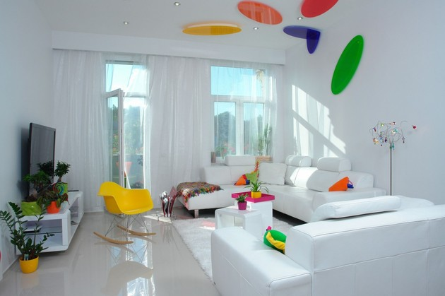 colour decorating ideas for a dream apartment in %20budapest 2 living thumb 630x419 15131 Color Decorating Ideas for a Dream Apartment in Budapest