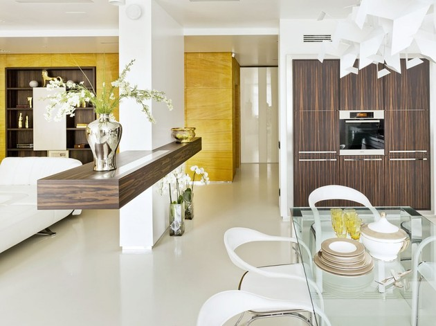 contemporary luxury russian design apartment 1 thumb 630x471 17198 Luxury Russian Design Apartment with Contemporary Flair