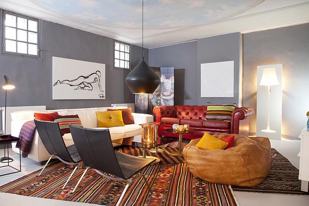 cool basement apartment with gorgeous urban design 1 thumb 630x420 16377 Cool Basement Apartment with Gorgeous Urban Design