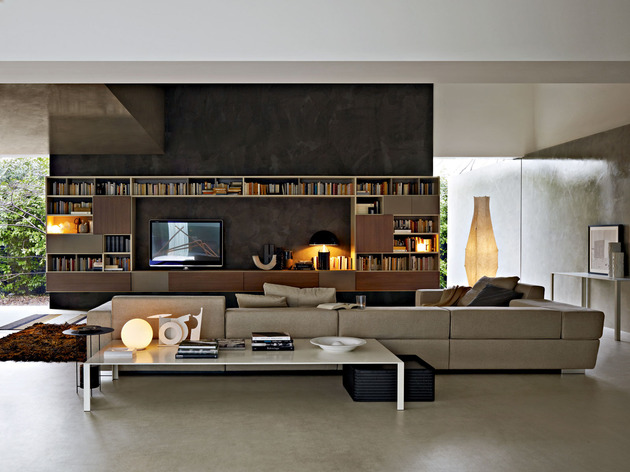 glass house wows modern creativity artistic designs 2 media thumb 630x472 18351 Home Interior Inspirations from Molteni