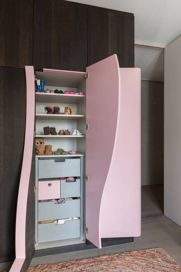 3 whimsical doors drawers cubby creations karhard architektur 1 closet thumb 630x943 23484 3 Whimsical Doors Drawers and Cubby Creations by Karhard Architektur