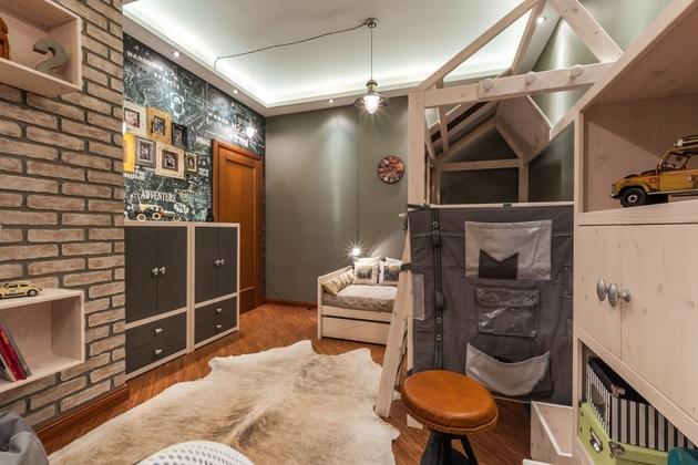 loft style childrens room 2 thumb 630x420 28753 Loft Style Childrens Room