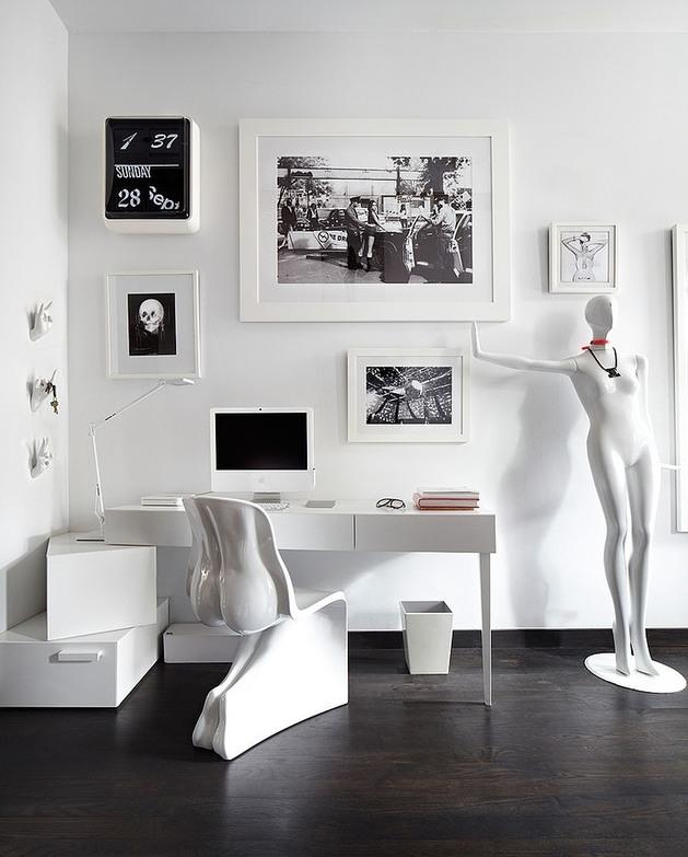 loft design uses furnishings art 1 office thumb autox783 32568 Loft Design uses Furnishings as Art