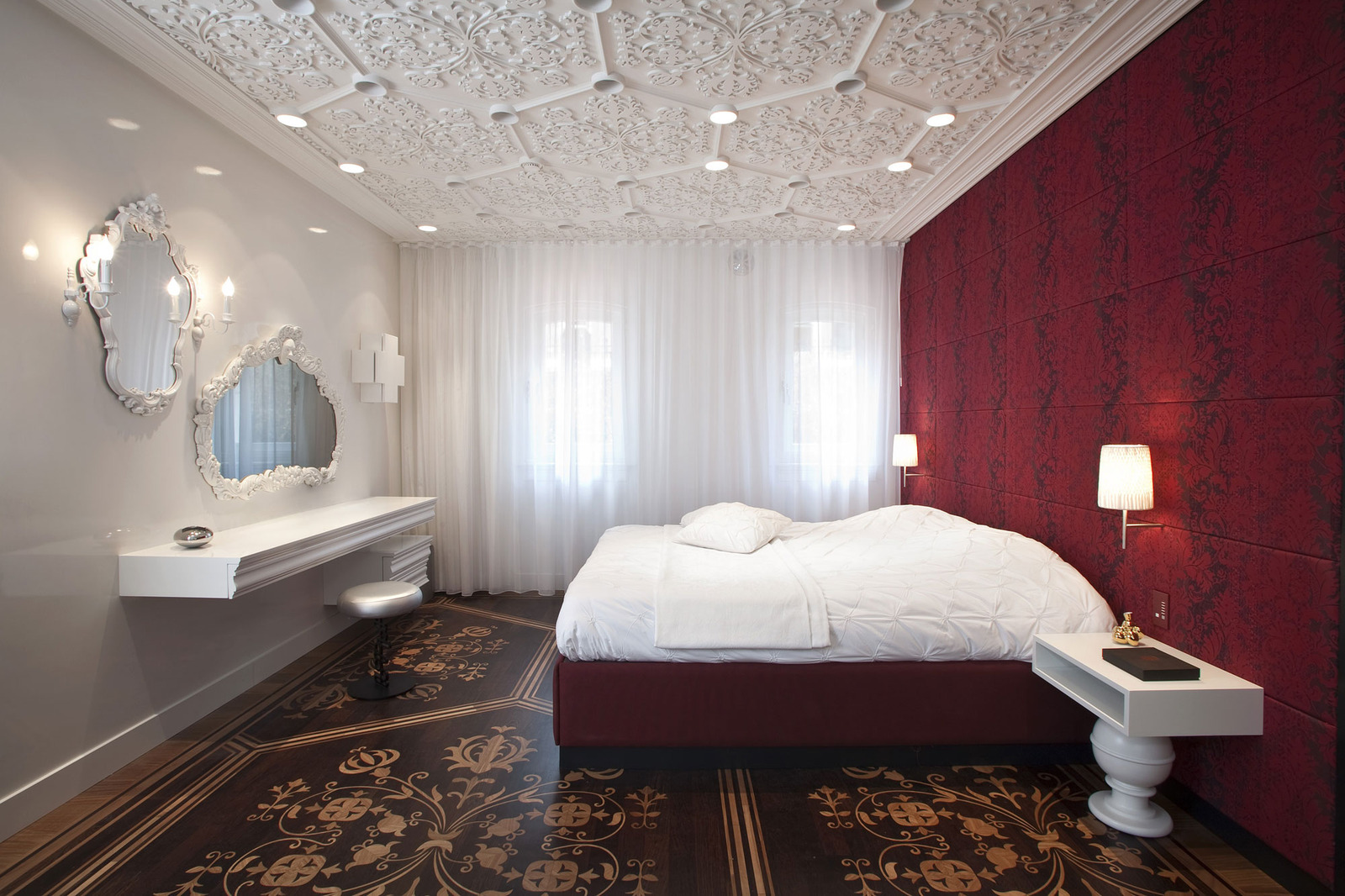Home full of Textures and Patterns creates a Visceral Experience Bedroom Home Interior Design Texture on home interior design wallpaper, home interior design styles, home interior design sketch, home interior design layout, home interior design colors,