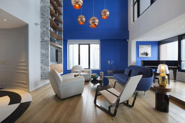 stylish and elegant penthouse in white and blue 1 thumb 630xauto 39401 Stylish and Elegant Penthouse in White and Blue