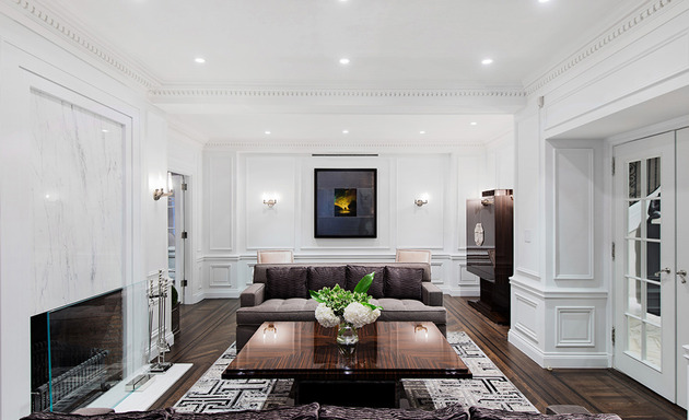 neoclassical home with rich architectural details 1 thumb 630xauto 46368 Modern Neoclassical Interiors Mixed with Contemporary by Britto Charette