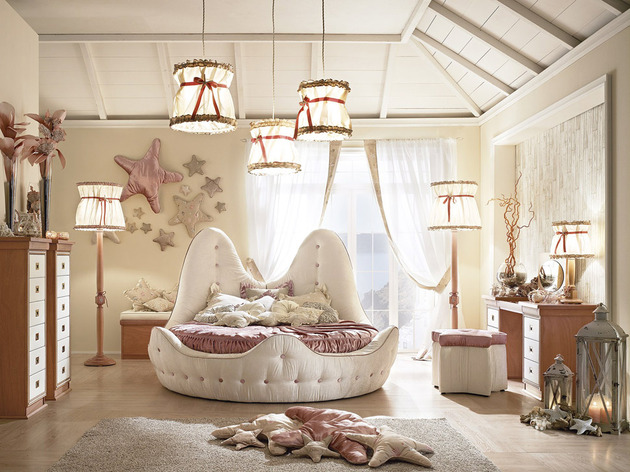 Seaside Style Girls Bedroom By Caroti