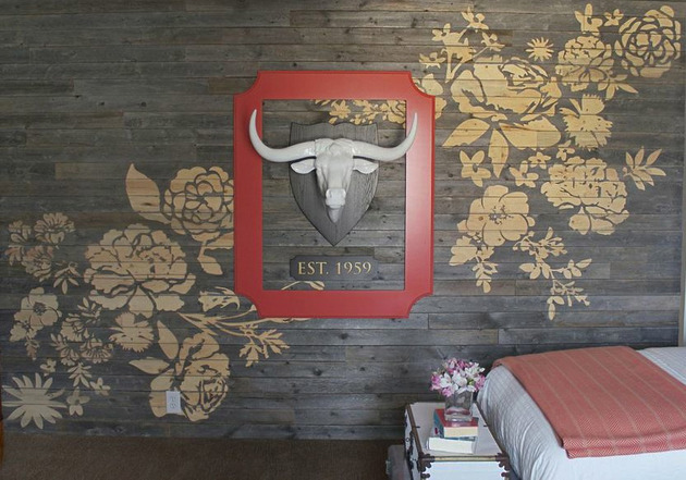 floral wall art engraved 2 thumb 630xauto 51928 Floral Wall Art Made with CNC Engraved Barn Board