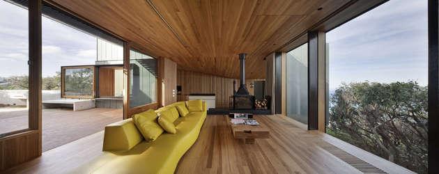 beach house wood interiors john wardle 2 thumb 630xauto 53857 The Wood and The Ocean: Beach House Interiors by John Wardle Architects